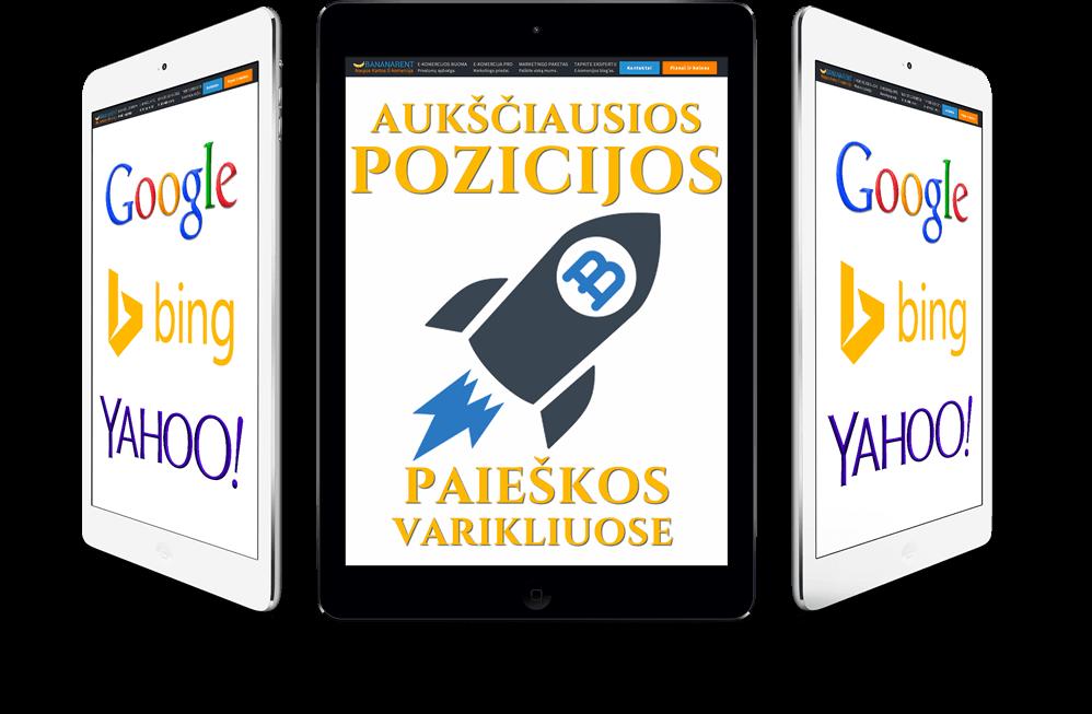 Internetinės parduotuvės nuoma Bananarent Prokomercija - Jūsų klientai reguliariai generuos unikalų turinį, kurį tiesiog dievina Google.