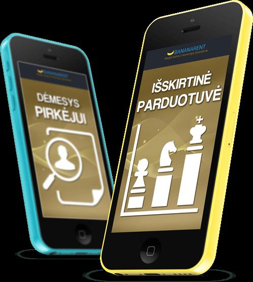 Elektroninės parduotvės nuoma Bananarent Prokomercija - leiskite klientams apsipirkti moderniausioje e-parduotuvėje Jūsų nišoje.