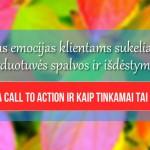 kas yra call to action